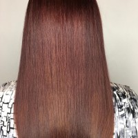 brown red hair color miami salon
