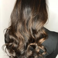 brown balayage miami salon