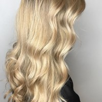 natural golden blonde balayage