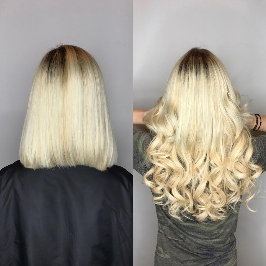 Hair extensions miami great lengths salon tape extensions clip ins platinum blonde hair color and extensions pmusecretfo Image collections