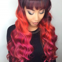 Bright Hair Color Miami