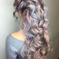 Pastel Hair Color Coral Gables