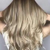 blonde beige tone balayage
