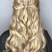 blonde balayage and waves salon miami