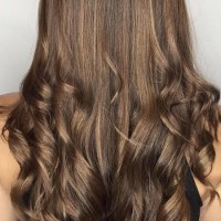 brown balayage long hair miami salon