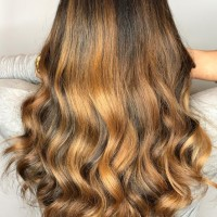 caramel balayage best salon