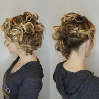 bride updo miami salon
