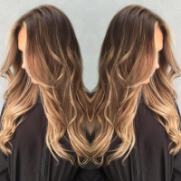 Balayage and Hair Styling