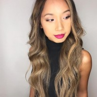 asian hair balayage miami Salon