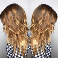 golden blonde balayage coral gables salon