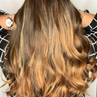 light caramel balayage