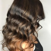 natural brown balayage salon miami