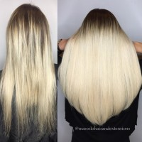 greatlengths hair extensions platinum blonde