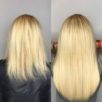 Short to Long Hair Extensions - Hair Extensions Miami Salon