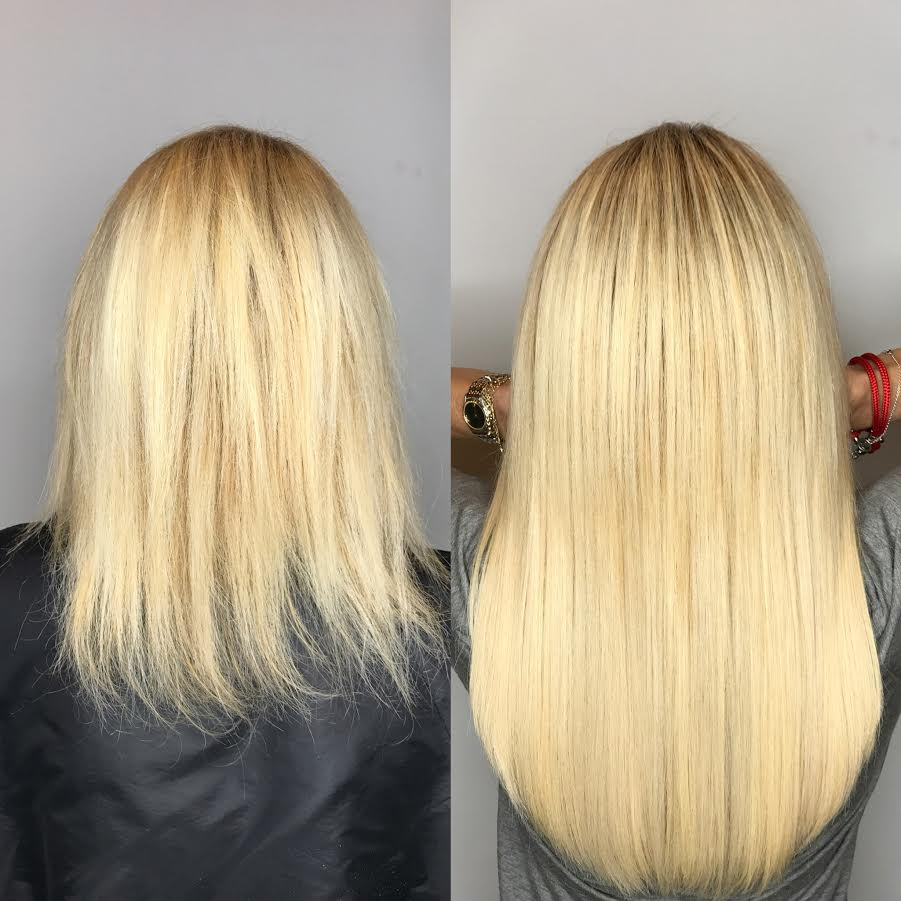 Hair extensions miami great lengths salon tape extensions clip ins from short to long hair extensions miami pmusecretfo Image collections