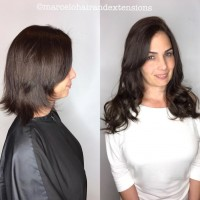 hair extensions before and after coral gables salon