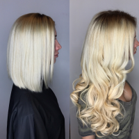 blonde hair extensions miami