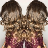 caramel brown balayage