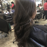 blowdry with waves miami salon