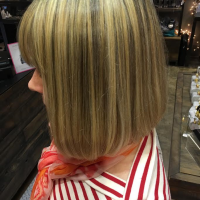 deep blonde highlights miami salon