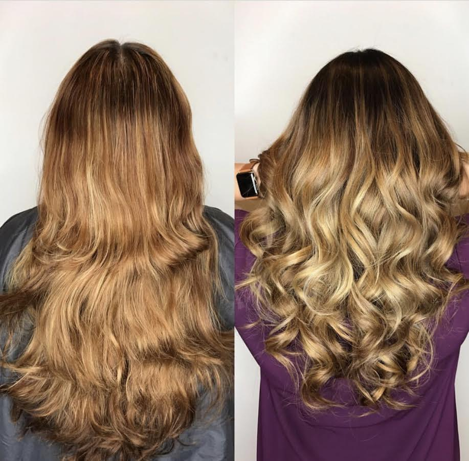 Hair extensions miami great lengths salon tape extensions clip ins real hair extensions before and after miami pmusecretfo Image collections