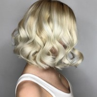 platinum blonde bob miami salon