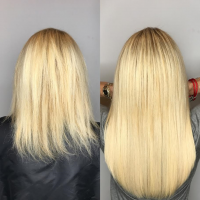 blonde greatlengths hair extensions