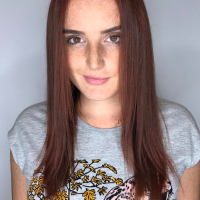 red hair color coral gables salon