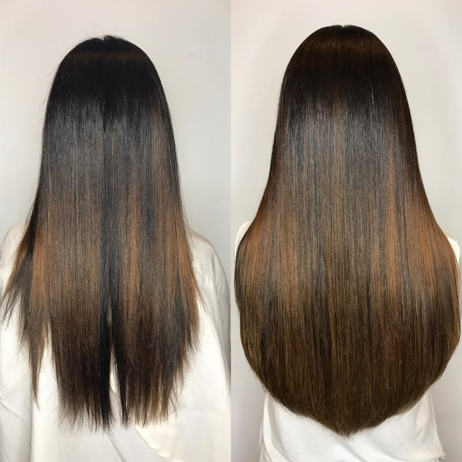 Hair extensions miami great lengths salon tape extensions clip ins brunette hair extensions miami salon pmusecretfo Image collections