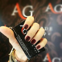 Avant Garde Red Nails