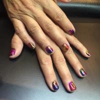 foil manicure miami