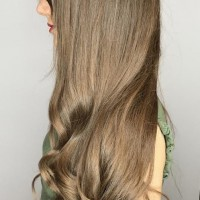 long haircut and style miami salon