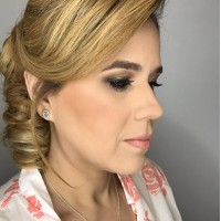 Hair Styled Updo and Makeup Salon Coral Gables