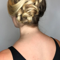 bridal updo miami salon
