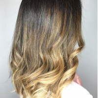 natural brown color and style