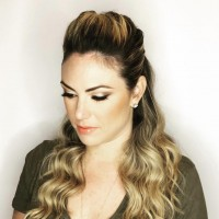 bridesmaids hairstyle and makeup coral gables